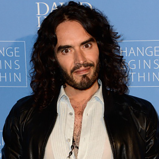 Russell Brand on TM